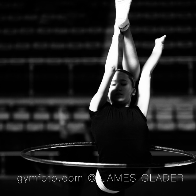 Rhythmic Gymnast http://smu.gs/1h4cLVf photo by James Glader