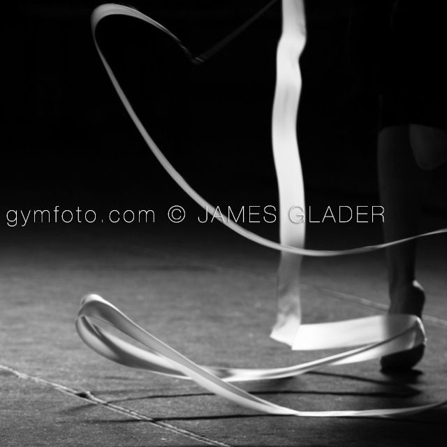 Rhythmic Gymnast http://smu.gs/1aKcQpP photo by James Glader